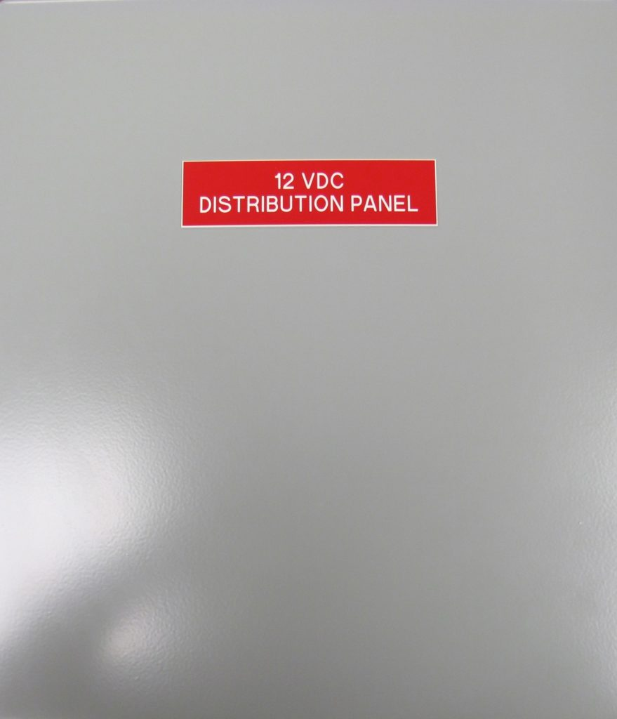 DC Branch Distribution Panel - 01 JB-DP7 -inside